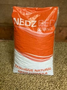 Nedz Bed Advance bag in stable of pellets