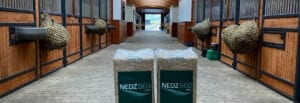 Nedz Bed Pro bags in stable